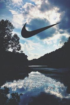 iphone, logo, Nike, tapisserie Plus
