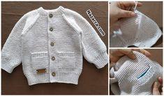 örgü Knit Vest, Baby Knitting Patterns, Free Pattern, Crochet, Sweaters, How To Wear, Fashion, Knitting Designs, Amigurumi