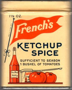 the a picture of ketchup. In the story lennie wanted Ketchup to use for his beans an George say it was none.is the a picture of ketchup. In the story lennie wanted Ketchup to use for his beans an George say it was none. Vintage Tins, Vintage Labels, Vintage Kitchen, French Vintage, Vintage Posters, Vintage Antiques, Retro Vintage, Vintage Baking, Vintage Food