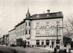 1893. Krisztina tér, Alagút utca sarka, Budai Polgári Kaszinó (terv: Francsek Imre, fotó: Divald Károly)