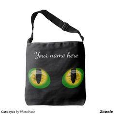 Cats eyes Over Shoulder Tote Bag