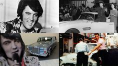 In what would have been Elvis Presley's 80th year, we look back at his life in cars--45 slides