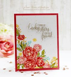 Joni Andaya for WPlus9 featuring Pretty Little Peonies and Pretty Peonies - September Special Release 2014