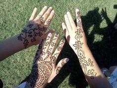 Henna Painting at Homecoming