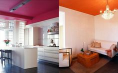 ... favorite inspirations for painted ceilings in an array of vibrant hues