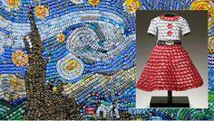 painel mosaico tampinhas - Pesquisa Google