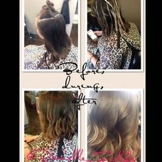 Balayage on med. to shot hair! https://www.facebook.com/pages/Danielle-Prater-Fields-at-Salon-Lofts-Tylersville/584674068217778