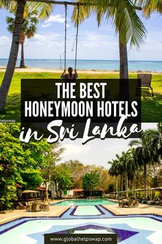 Sri Lanka should be at the top of your list for honeymoon destination ideas! If it isn't, it will be after you read this list! From its mist-blanketed mountain ranges to its vibrantly-flavored cuisine, Srilanka is a colorful country exploding with rich culture, perfect for your honeymoon. | Sri lanka Honeymoon Hotels | Honeymoon Destinations in Sri Lanka | Luxury Hotels in Sri Lanka | Sri lanka Honeymoon Resorts | Honeymoon Destinations | #srilanka #srilankatravel #Hotels… Honeymoon Hotels, Best Honeymoon, Honeymoon Ideas, Honeymoon Destinations, Amazing Destinations, Travel Couple, Family Travel, Travel Abroad, Travel Tips