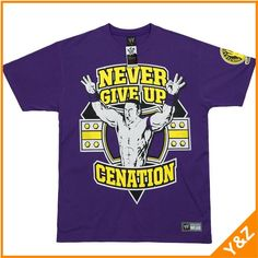 purple wrestling t shirts ,contact:  kevin.pan@yztradehk.com
