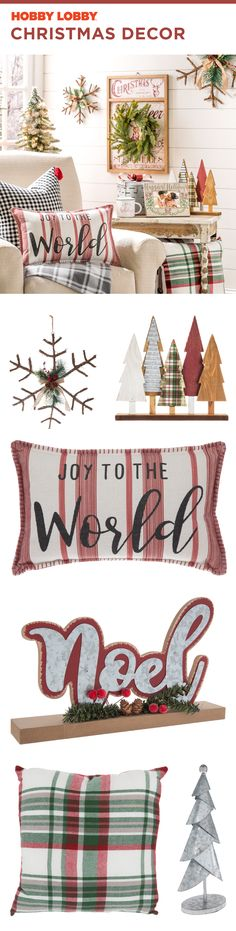 We all deserve a little joy. This Christmas, fill your home with your favorite decor. We all deserve a little joy. This Christmas, fill your home with your favorite decor. Christmas Love, Country Christmas, Vintage Christmas, Merry Christmas, Christmas Ideas, Hobby Lobby Christmas, Fill, Home And Family, Christmas Decorations