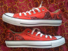 Battlestar Galactica Custom Made Converse ARTWORK and SHOES INCLUDED