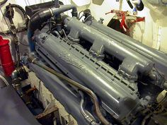 PT Boat Packard V12. One of 3 engines on board. They don't call them fast attack boats for nothing !