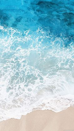 21 ideas for wall paper blue aqua phone Blue Water Wallpaper, Iphone Wallpaper Sea, Waves Wallpaper, Beach Wallpaper, Nature Wallpaper, Cool Wallpaper, Phone Backgrounds, Wallpaper Backgrounds, Water Background