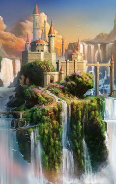 Water Fall Island