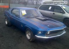 1969 FORD MUSTANG VIN: 9T01F177995