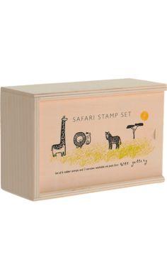 Wee Gallery Safari Stamp Set