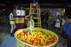 Operação Skol Folia - Carnaval 2013 - Bloco Fura Olho