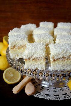 Ciasto Kokosowo-cytrynowe