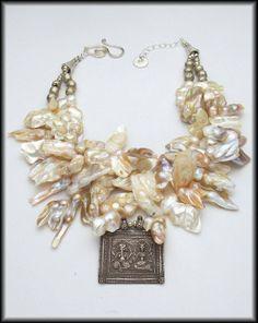 Rajasthani blister pearls