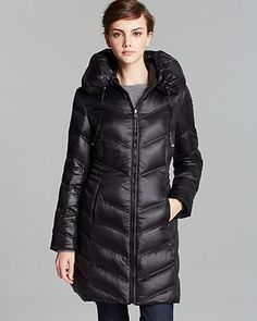 Moncler Down Coat - Hermine Mid-length