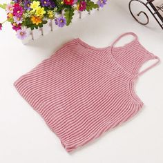 2016 New Sexy Ladies Knitting spaghetti Strap Tops Women Fashion Slim Short camisole tops wild Harness Vest Summer Tank Tops 058