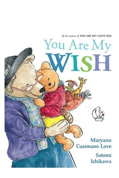 Great book for grandkids --- special bonds between grandparents and grandchildren!  You ARE my WISH!