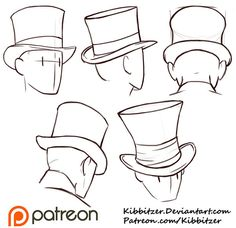 how to draw hats - Google Search
