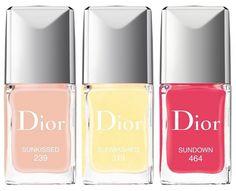 Dior Tye Dye Summer Collection 2015.