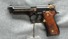 Beretta 92EL NRA Commemorative Pistol 9mm