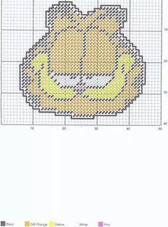 Garfield Tissue Box Cover 2/3