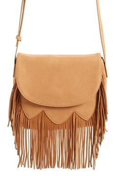 Sole Society 'Kerry' Fringe Crossbody Bag available at #Nordstrom