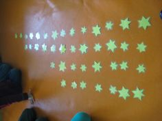 wie verzamelde de meeste sterren? de langste rij, de kortste rij