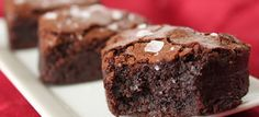 If you like Jägermeister herbal liqueur, then you'll love these very chewy brownies. They'll keep for five days so they're a great make-ahead dessert. The taste actually improves with time, so