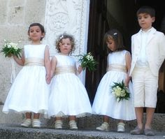 Brautjungfern Kleid - Blumenmädchen Kleid - PDF... von Frocks & Frolics auf DaWanda.com