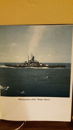USS Massachusetts BB 59 WWII Cruise Book 1942 1945 not Scanned Pics Spine Tight   eBay
