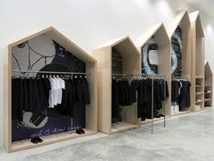 Retail: Dover Street Market New York interesting archetype for a 'shelter' used…