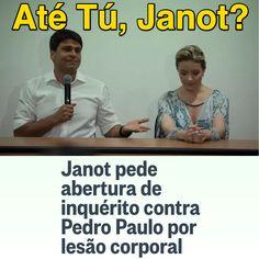 Até Tú, Janot? ➤ http://oglobo.globo.com/brasil/pgr-pede-abertura-de-inquerito-contra-pedro-paulo-por-agressao-ex-mulher-18663548 ②⓪①⑥ ⓪② ①②