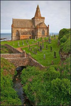 Parish Church St Monans, Fife, Scotland How amazing would it be to have a wedding here!?