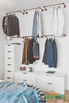 Wardrobe Racks, Clothing Wardrobes Walmart Wardrobe Wall Mounted Brass Clothing Rack Wite Lacquered Dresser With Many Drawer: inspiring clothing wardrobes
