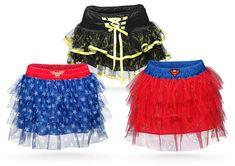 These Superhero Tutus are Perfect for Both Little and Big Superwomen #halloween #superhero trendhunter.com