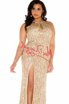 Plus Size Sequin Maxi Dress   Plus Size Fashion   Pinterest ...