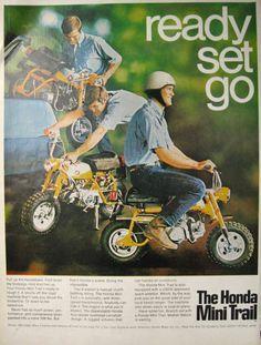 Honda Mini Trail, USA 1969.