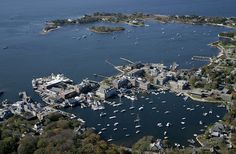 MBL & WHOI in Woods Hole, MA. Worked there for 2 years - what a gorgeous place to be.