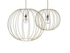 Lámpara colgante en acero BUBBLE GOLD | Lámpara colgante - Missoni Home