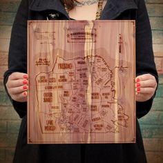 San Francisco neighorhoods map