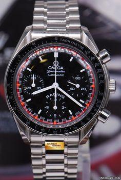 "Omega Speedmaster Racing ad: S$ 3,650 Omega Speedmaster ""schumacher"" Racing Chronograph 38mm... Location: Singapore, Singapore"