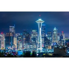 Noir Gallery View of the Seattle Skyline at