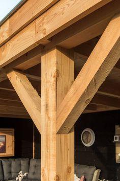 Overkapping Echteld Diy Gazebo, Wooden Gazebo, Backyard Playhouse, Outdoor Pergola, Backyard Pavilion, Backyard Bar, Backyard Patio Designs, Garden Veranda Ideas, Bbq Wood