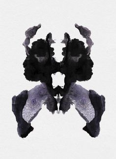 The Redstone Inkblot Test - Modern Blot Test, Flowers For Algernon, Rorschach Inkblot, Art Psychology, Cyberpunk, Arte Horror, Art Moderne, Art Graphique, Mirror Image