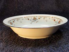 "Noritake Ivory China Adagio Oval Serving Vegetable Bowl 10""  7237 EXCELLENT! #Noritake"